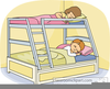 Free Bunk Bed Clipart Image