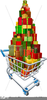 Shopping Trolley Clipart Image
