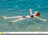 Woman Bathing Clipart Image