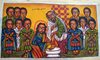 Clipart Of Jesus Washing The Disciples Feet Image