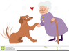 Therapy Animals Clipart Image