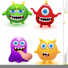 Free Silly Monster Clipart Image