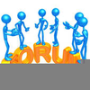 Discussion Board Clipart Image