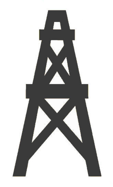 oil derrick logos gasderrick free images at clker com vector clip art 8465