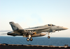 Super Hornet Launches From Uss Lincoln Image