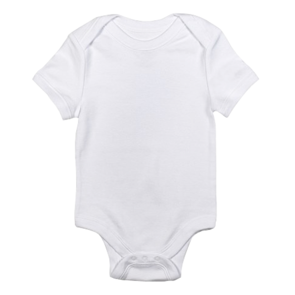 Baby Onesie White Trans | Free Images at Clker.com ...