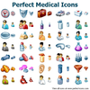 Perfect Medical Icons Image