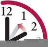 Free Time Change Clock Clipart Image