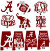 Free University Of Alabama Football Clipart Image