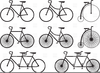 Penny Farthing Clipart Image