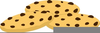 Chocolate Chip Cookie Clipart Free Image