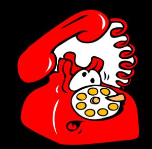 Ringing Phone Clip Art