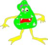 Cartoon Virus Clip Art