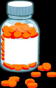 Blank Pill Bottle Rad Clip Art at Clker.com - vector clip ...