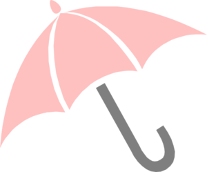 Pink Umbrella Clip Art