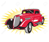 Free Street Rod Clipart Image