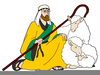 Clipart Of Shepherds And Sheep Image