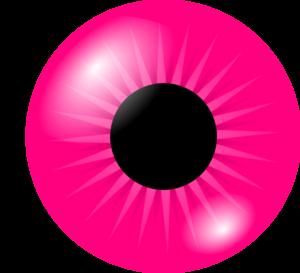 pink eye clip art at clkercom vector clip art online