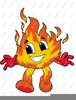 Free Flames Or Fire Clipart Image