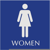 Clipart Bathroom Signs Image