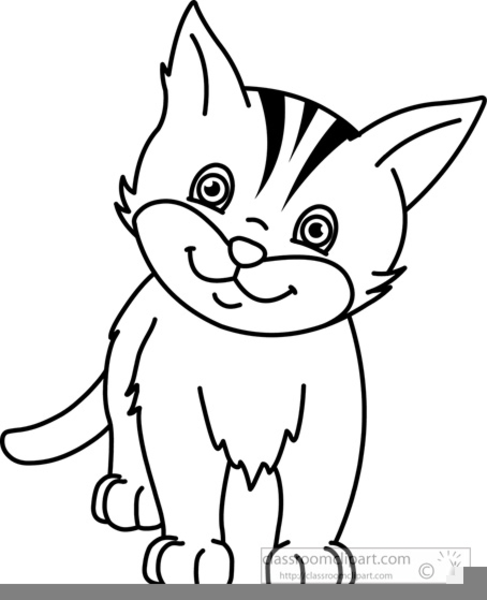 Free Black Cat Clipart Free Images At Clker Com