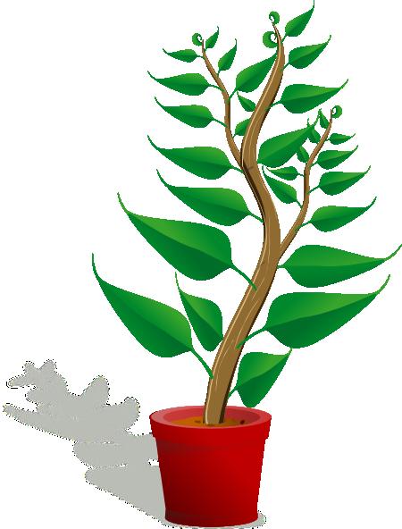 Tall Plant In Pot Clip Art at Clker.com - vector clip art ...
