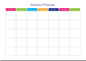 Gym Workout Planner Image