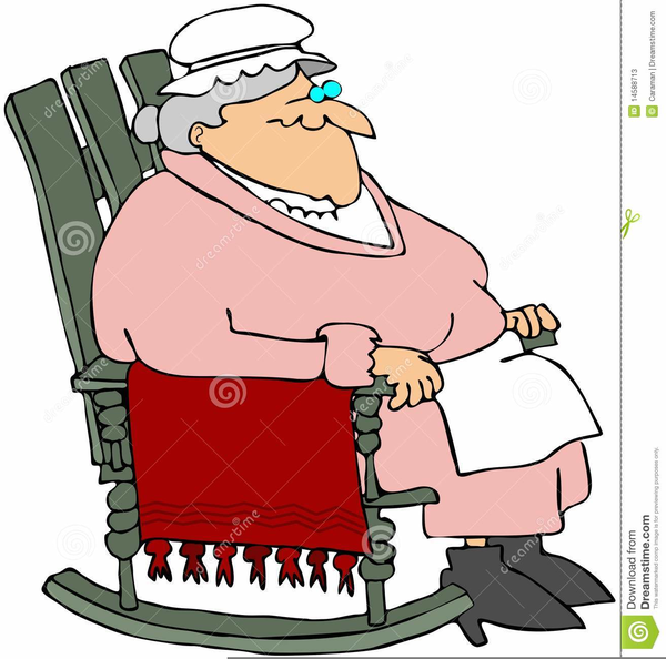 Grandma Rocking Chair Clipart Free Images At Clker Com Vector
