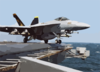 Super Hornet Launches Off The Lincoln Clip Art
