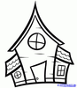 Clipart House Drawing Image