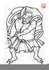 Traditional Tattoo Clipart Image
