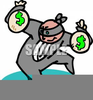 Man With Money Bag Clipart Image
