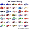 Car Icon Library Image