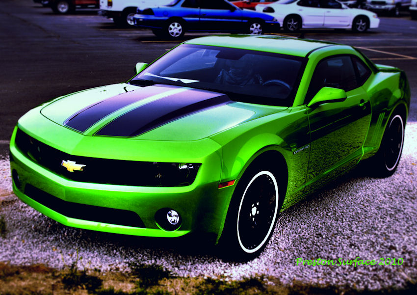 Camero Copyright By Preston Surface Free Images At Clker