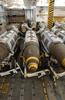 2000 Pound Joint Direct Attack Munition (jdam) Gbu-32 Bombs Stand Ready For Transport And Loading On Air Wing Aircraft, In A Weapon S Magazine Aboard Uss Harry S. Truman Image