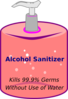 Sanitizer Bottle Clip Art