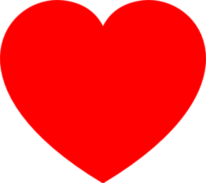 Red Heart Clip Art