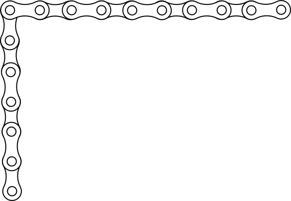 bike chain border clip art at vector clip art online royalty free public domain. Black Bedroom Furniture Sets. Home Design Ideas