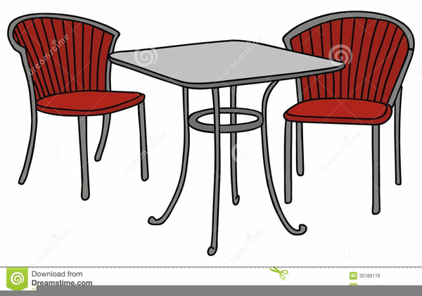 Patio Furniture Clipart Free Image