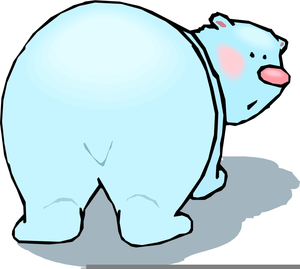 Animated Polar Bears Clipart Image