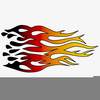 Racing Flames Clipart Free Image