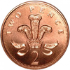 British Penny Clipart Image