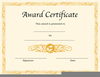 Creating Gift Certificate With Clipart Image