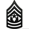 Command Sergeant Major Rank Clipart Image