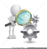 Observing Clipart Image