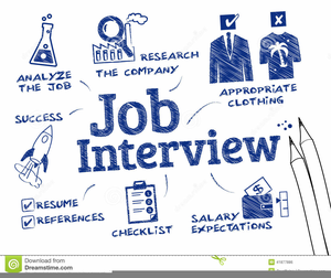 Job Interview Clipart Image
