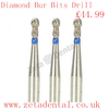 Zetadental Co Uk Diamond Bur Bits Drill Image