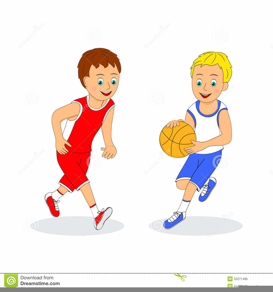 Boys Playing Basketball Clipart | Free Images at Clker.com ...