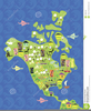 Clipart Maps North America Image