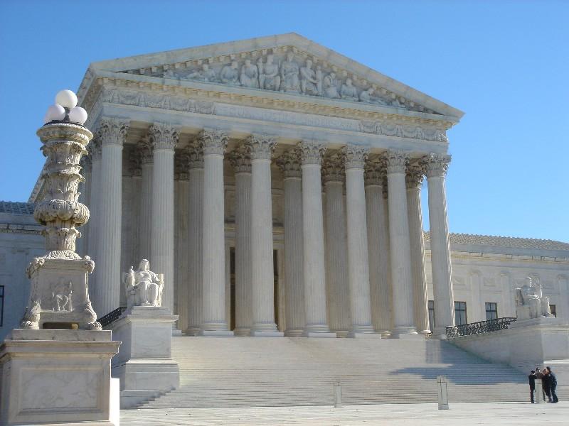 Supreme Court Building Free Images At Clker Com Vector